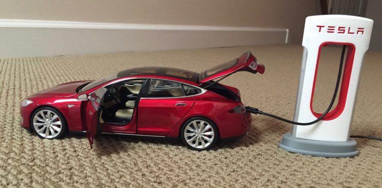 Kicsi Supercharger, Kicsi Tesla